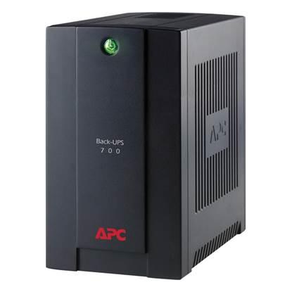 APC UPS 700VA Back-Ups Line Interactive Schuko (BX700U-GR)