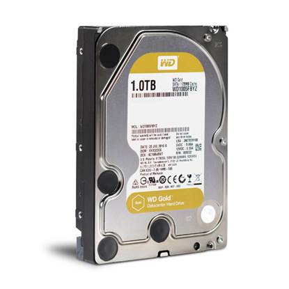 "Western Digital Εσωτερικός Σκληρός Δίσκος 1TB (Gold Datacenter 3.5"") (WD1005FBYZ)"