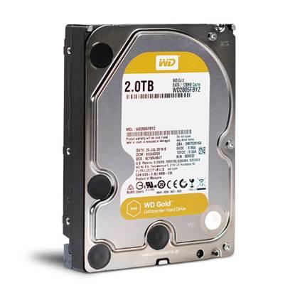 "Western Digital Εσωτερικός Σκληρός Δίσκος 2TB (Gold Datacenter 3.5"") (WD2005FBYZ)"