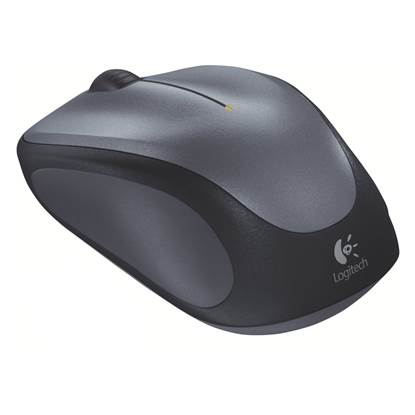 Logitech M235 Optical Mouse (Silver, Wireless)