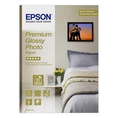 Φωτογραφικό Χαρτί EPSON Premium Glossy A4 255g/m² 15 Φύλλα (C13S042155)