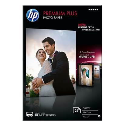 Φωτογραφικό Χαρτί HEWLETT PACKARD 13 x 18 cm Glossy 300g/m² 20 Φύλλα (CR676A)