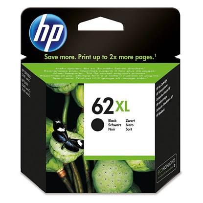 HP Μελάνι Inkjet No.62XL Black (C2P05AE)