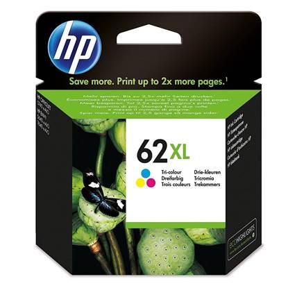 HP Μελάνι Inkjet No.62XL Tri-Colour (C2P07AE)