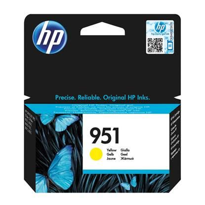 HP Μελάνι Inkjet 951 Yellow (CN052AE)