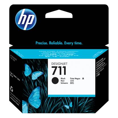 HP Μελάνι Inkjet No.711XL Black (CZ133A)