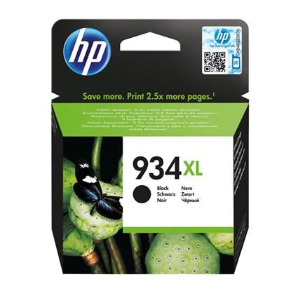 HP Μελάνι Inkjet No.934XL Black (C2P23AE)