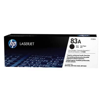 HP Toner 83A LJ PRO M127/125 Black (1.5k) (CF283A)