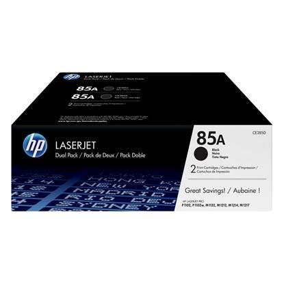 HP LaserJet P100/M1130 Black Toner Twin Pack (CE285AD)
