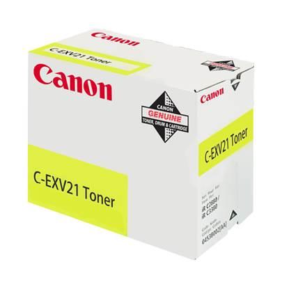 CANON IRC3380/2880 TNR YELL (C-EXV21) (0455B002)