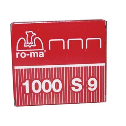 Συρραπτικά Σύρματα ROMA MAESTRI S9 (1.000 Τεμάχια)