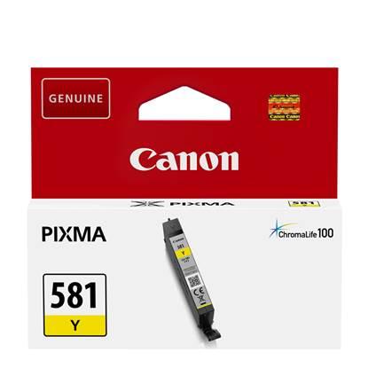 Canon Μελάνι Inkjet CLI-581 Yellow (2105C001)