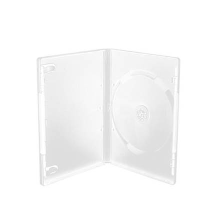 MediaRange DVD Case for 1 disc, 14mm, machine packing grade, White