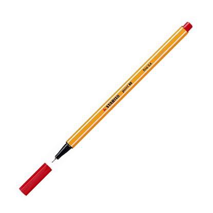 Μαρκαδόρος Σχεδίου STABILO Point 88 No.40 0.4 mm (Κόκκινο) (88/40)