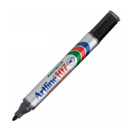 Μαρκαδόρος Ανεξίτηλος ARTLINE 107 Στρογγυλή Μύτη 1.5 mm (Μαύρο)