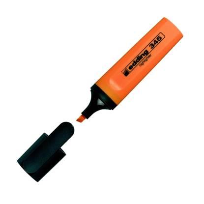 Μαρκαδόρος Υπογράμμισης EDDING 345 2 - 5 mm (Πορτοκαλί) (3940006)