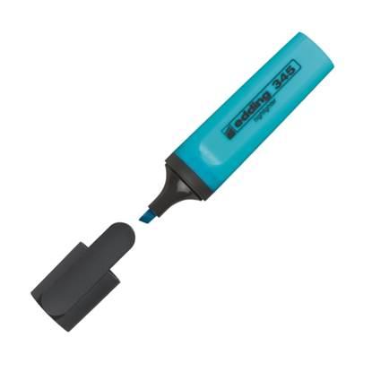 Μαρκαδόρος Υπογράμμισης EDDING 345 2 - 5 mm (Γαλάζιο) (3940010)
