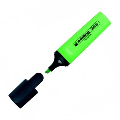 Μαρκαδόρος Υπογράμμισης EDDING 345 2 - 5 mm (Πράσινο) (3940004)