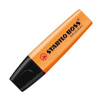 Μαρκαδόρος Υπογράμμισης STABILO BOSS 70/54 2 - 5 mm (Πορτοκαλί) (70/54)