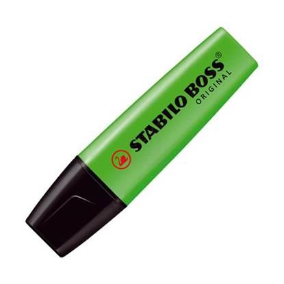 Μαρκαδόρος Υπογράμμισης STABILO BOSS 70/33 2 - 5 mm (Πράσινο) ( 70/33)