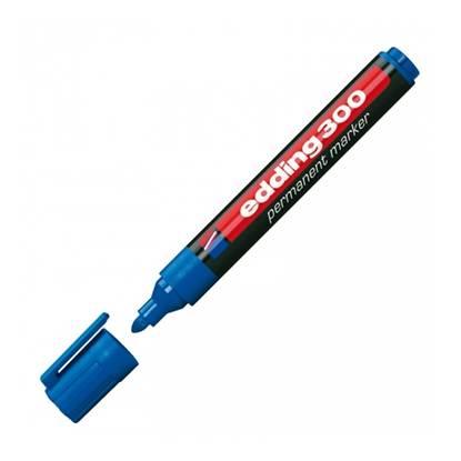 Μαρκαδόρος Ανεξίτηλος EDDING 300 1.5 - 3 mm (Μπλε) (3623003)
