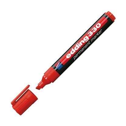 Μαρκαδόρος Ανεξίτηλος EDDING 330 1 - 5 mm (Κόκκινο) (3625002)