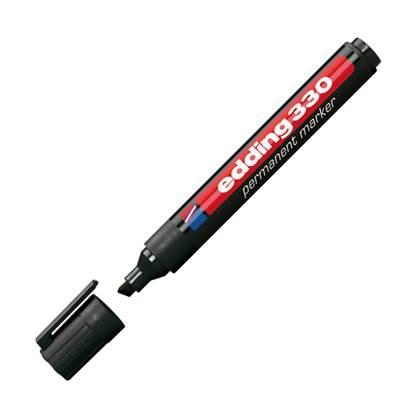 Μαρκαδόρος Ανεξίτηλος EDDING 330 1 - 5 mm (Μαύρο) (3625001)