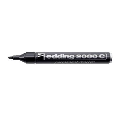Μαρκαδόρος Ανεξίτηλος EDDING 2000 1.5 - 3.0 mm (Μαύρο)