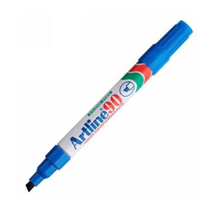 Μαρκαδόρος Ανεξίτηλος ARTLINE 90  Μύτη Πλακέ 1.5 mm (Μπλέ)