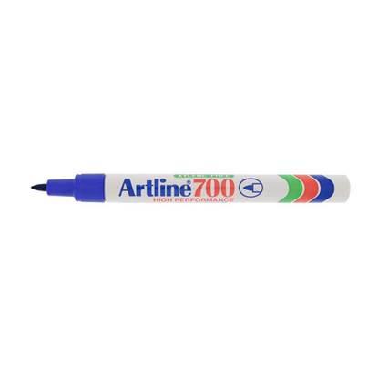 Μαρκαδόρος Ανεξίτηλος ARTLINE 700  Μύτη Στρογγυλή 0.7 mm (Μπλέ)
