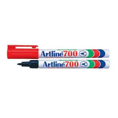 Μαρκαδόρος Ανεξίτηλος ARTLINE 700  Μύτη Στρογγυλή 0.7 mm (Κόκκινο)