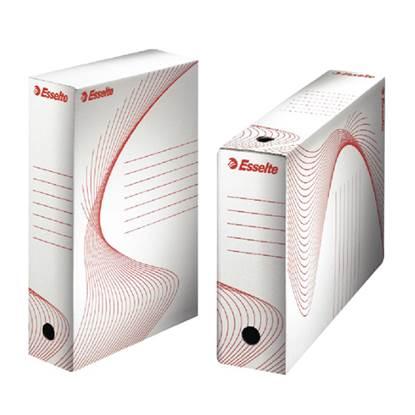 Κουτί αρχείου ESSELTE Boxy 100 10cm (Λευκό)