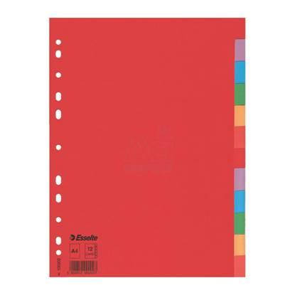 Χάρτινα Διαχωριστικά Esselte A4 10 Θεμάτων (100201)
