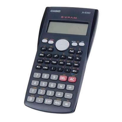 Αριθμομηχανή 12+12 Ψηφίων Casio (FX-82MS)