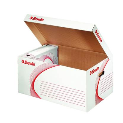 Κουτί αδρανούς αρχείου ESSELTE Natural 36x54x25.3cm (Λευκό)