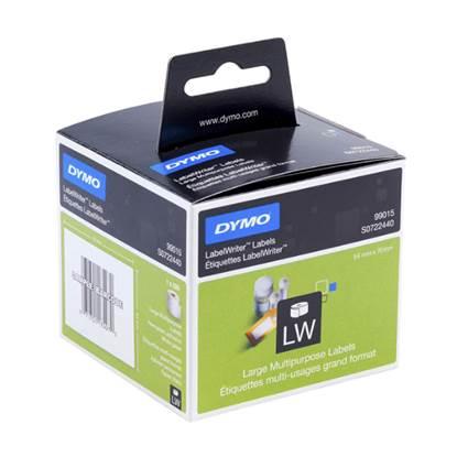 Χάρτινη Ετικέτα DYMO 99015 54x70mm (Λευκή)