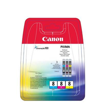 Canon Μελάνι Inkjet CLI-8MPK1 Multipack (0621B029)