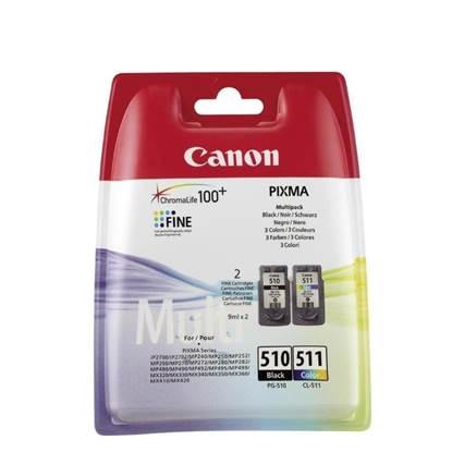 Canon Μελάνι Inkjet PG-510/CL-511 Multipack (2970B010)