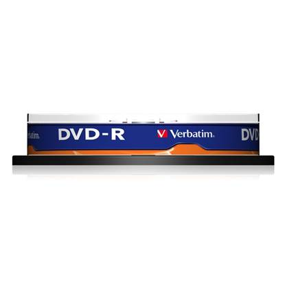 Verbatim DVD-R 120' 4.7GB 16x Cake Box x10 (43523)