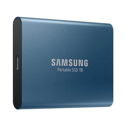 Samsung Εξωτερικός Σκληρός Δίσκος SSD USB 3.0 500GB (Blue)