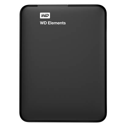 "Western Digital Elements 1TB USB 3.0 (Black 2.5"") (WDBUZG0010BBK-EESN)"