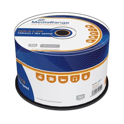 MediaRange DVD+R 120' 4.7GB 16x Cake Box x 50 (MR445)