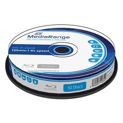 MediaRange BD R 25GB 4x Cake Box X 10 MR495