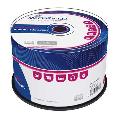 MediaRange CD-R 80' 700MB 52x Cake Box x 50 (MR207)