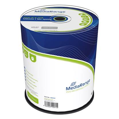 MediaRange DVD-R 120' 4.7GB 16x Cake Box x 100 (MR442)