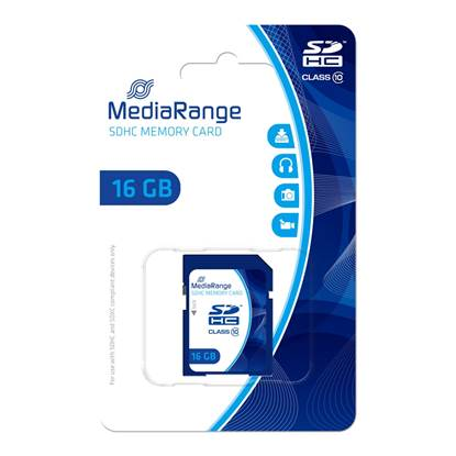 MediaRange SDHC Class 10 16 GB (High Capacity)