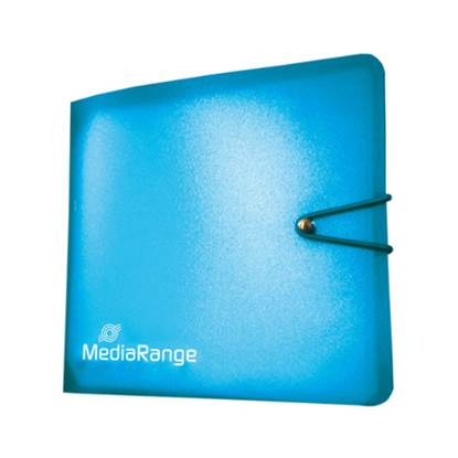 MediaRange Media Storage Wallet for 12 Discs Blue