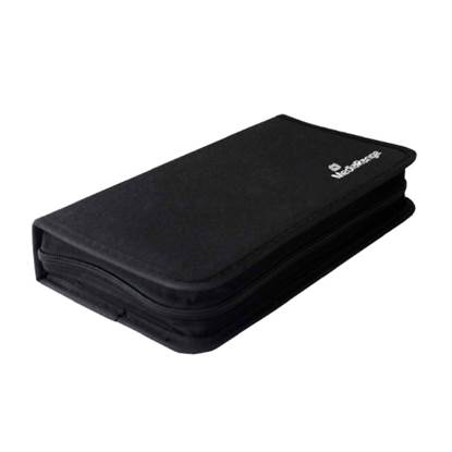MediaRange Media Storage Wallet for 48 Discs Nylon Black