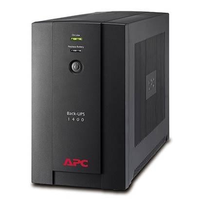 APC UPS 1400VA Back-Ups Line Interactive Schuko (BX1400U-GR)