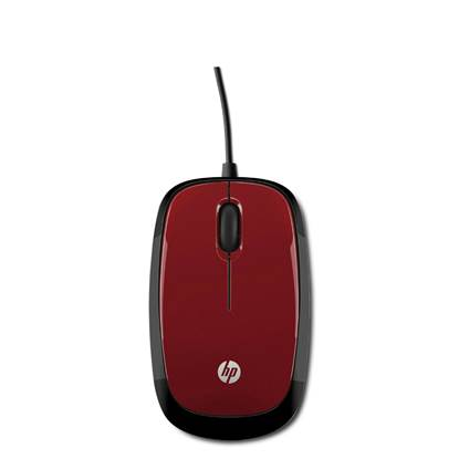 HP Mouse X1200 (Flyer Red)